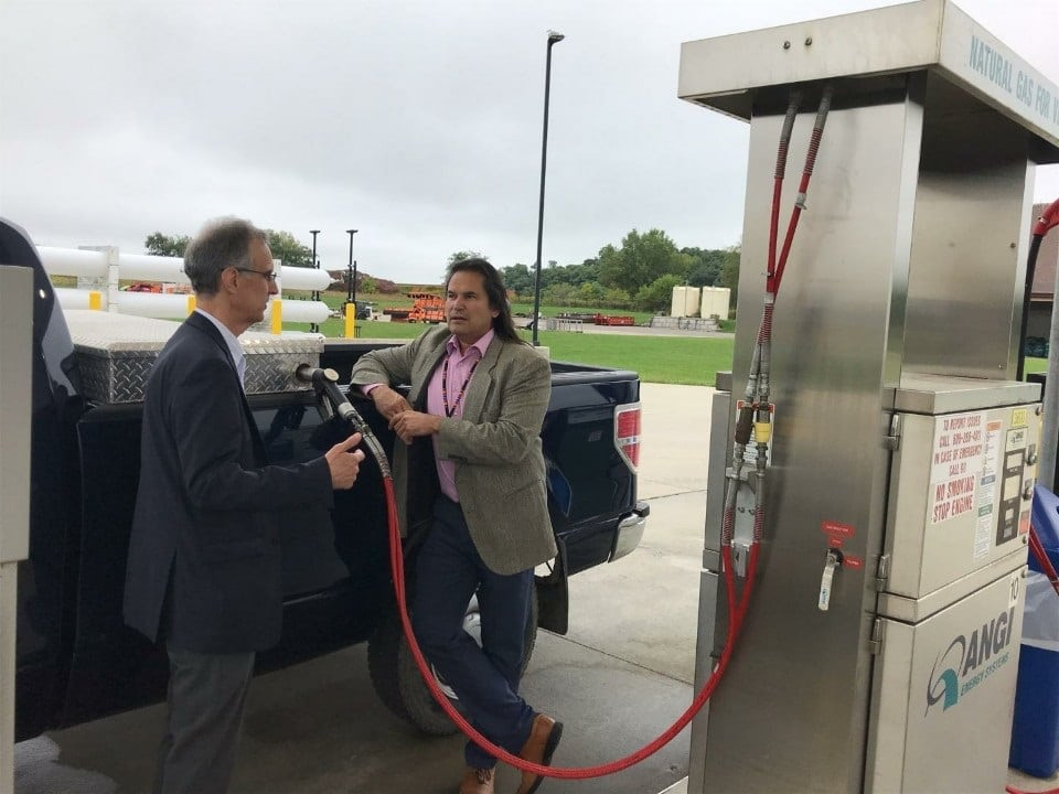 Dane County Landfill Biogas Facility Fuels Ho-Chunk Gaming Madison's First Renewable Natural Gas Maintenance Truck